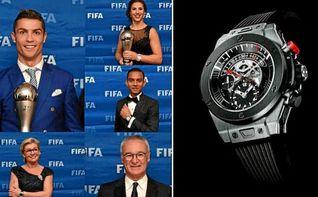 La FIFA denuncia el robo de seis relojes de lujo en la gala ´The Best´