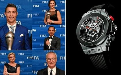 Los relojes iban a ser entregados a los ganadores de los premios.