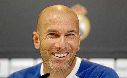 Zidane no quiere que sus jugadores se relajen en el partido de Copa.