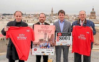 8.001 corredores tomarán la salida en el EDP Medio Maratón de Sevilla
