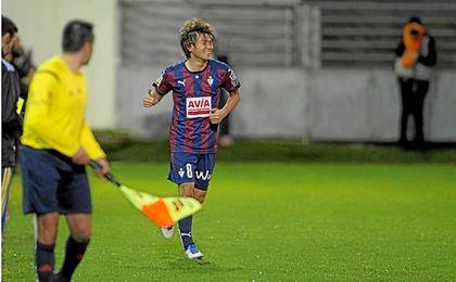 Inui, el japonés con más partidos disputados en la Liga