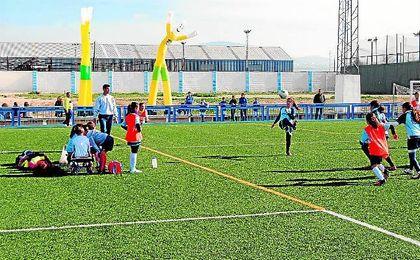 Las chicas también tienen su protagonismo en la competición desarrollada en la Sierra Sur.