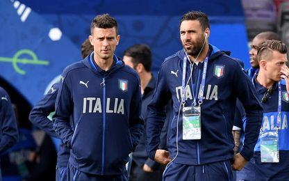 Conte dirigió a Sirigu en Italia.