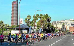Sevilla disfruta de su Medio Maratón