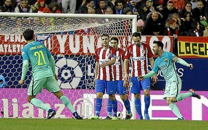 Messi y Suárez firmaron sendos golazos.