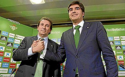 Catalán y Haro tomaron el control del Betis el pasado 4 de febrero de 2016.