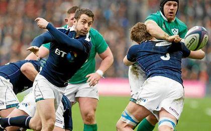 Escocia sorprende a Irlanda en el primer partido del Seis Naciones
