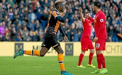 N'Diaye marca en su debut con el Hull City