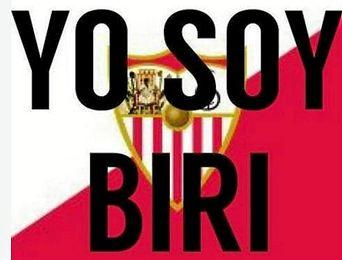 Unas 48.500 pegatinas con el lema 'Yo soy Biri' serán repartidas antes el Sevilla-Villarreal
