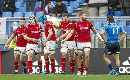 Gales comienza el Seis Naciones con triunfo en Italia