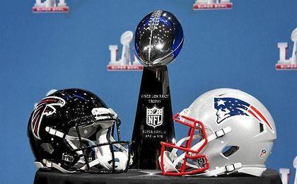 Los Patriots buscan su quinto título y los Falcons, el primero, sin que haya ningún favorito