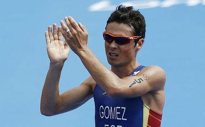 Gómez Noya, en los Juegos Olímpicos de Londres. UESyndication.