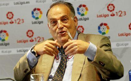 Tebas explicó que México es un mercado importante para LaLiga.
