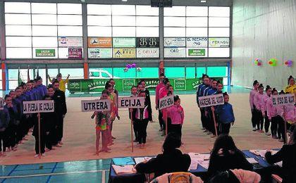La gimnasia rítmica deslumbra en Écija