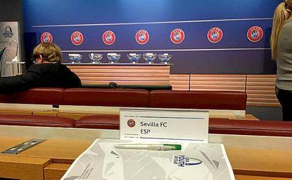 El Atlético de Madrid, rival del Sevilla en octavos de la UEFA Youth League