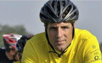 El exciclista profesional, Miguel Indurain.