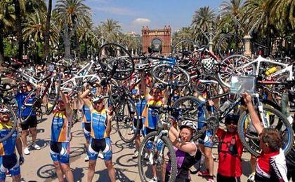 Los ciclistas se posicionan en contra de los frenos de disco