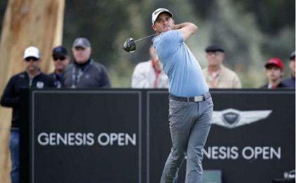 El golfista estadounidense, Sam Saunders.