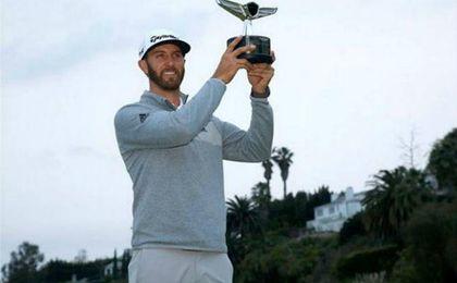 Dustin Johnson, nuevo número 1 del golf.