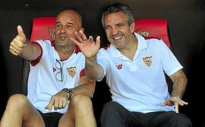 Lillo, el sustituto de Sampaoli si el argentino se marcha del Sevilla, según 'Marca'