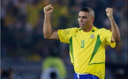 Ronaldo, en el Mundial de 2002.