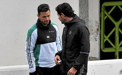 Víctor ha mantenido una charla este lunes con Rubén.