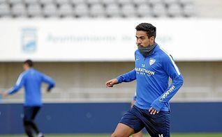 Recio amplía su contrato con el Málaga hasta 2021