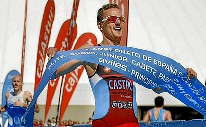 David Castro: ´España es al triatlón lo que Kenia al atletismo´