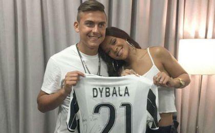 Dybala, la nueva conquista de Rihanna
