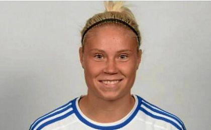 La futbolista finlandesa, Tia Hälinen.