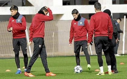Convocatoria del Sevilla para recibir al Leicester en Champions