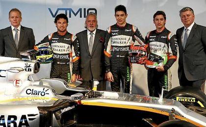 Presentación del equipo Sahara Force India de F1.