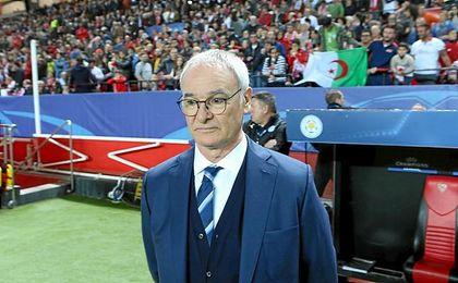 El del Nervión podría haber sido el último partido de Ranieri como técnico del Leicester.