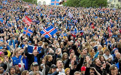 Los islandeses fueron los grandes animadores de la pasada Eurocopa de Francia.