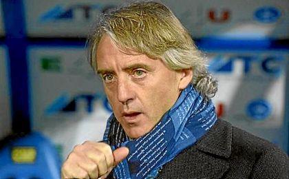 Mancini como primera opción.