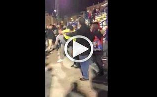 Pelea entre el árbitro y un aficionado en Tercera Andaluza Juvenil