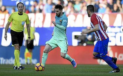 Atleti 1-2 Barcelona: El Barça resiste, golpea e insiste en la Liga