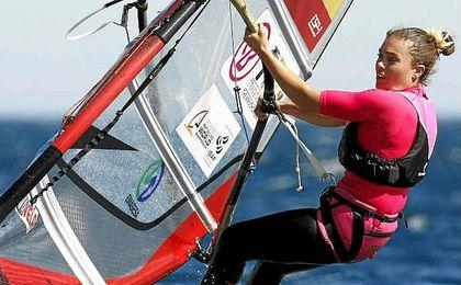 La sevillana Blanca Manchón, campeona de España de RS:X