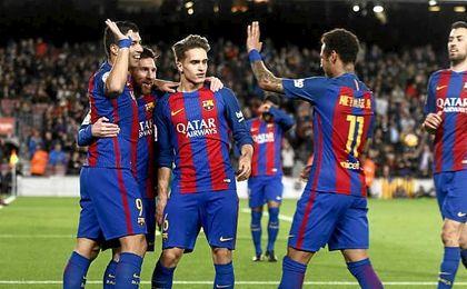 Barça 6-1 Sporting: El Barça ensaya la remontada al PSG con el Sporting
