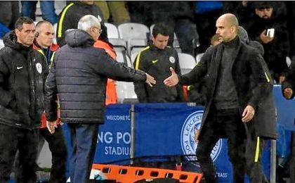 """Guardiola: """"Ranieri encontrará un nuevo trabajo rápidamente"""""""