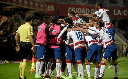 El Granada no ganaba tres partidos seguidos en casa desde hace tres años