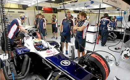 Williams aparca sus entrenamientos hasta la próxima semana por seguridad