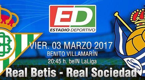 Betis-Real Sociedad: La hora de darle una alegría a los béticos