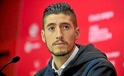 Sergio Escudero está viviendo un gran momento de forma en el Sevilla.