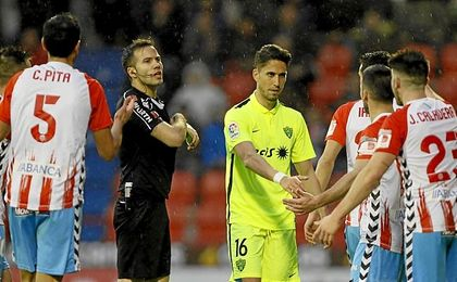El Almería ganó por fin a domicilio.
