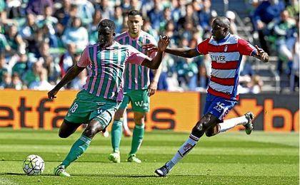 N´Diaye anotó en el triunfo ante el Granada de la 15/16. UESyndication.