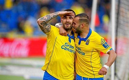 Las Palmas marca en cinco días los mismos goles que entre diciembre y febrero