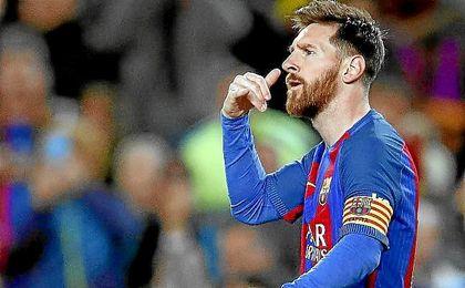 Messi sigue consiguiendo récords con el Barcelona.