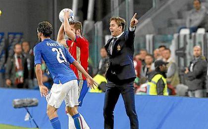 Lopetegui ve en buena forma a Iker Casillas.