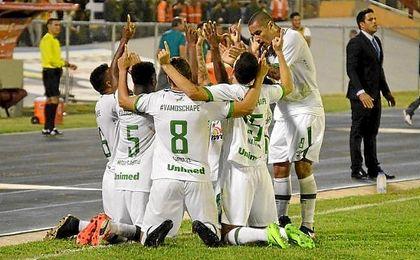 El Chapecoense gana el primer partido de la Libertadores